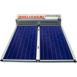 """Ηλιακός θερμοσίφωνας glass """"Megasun"""" 200E Χάλκινος - Διπλός Συλλέκτης - HELIOAKMI"""